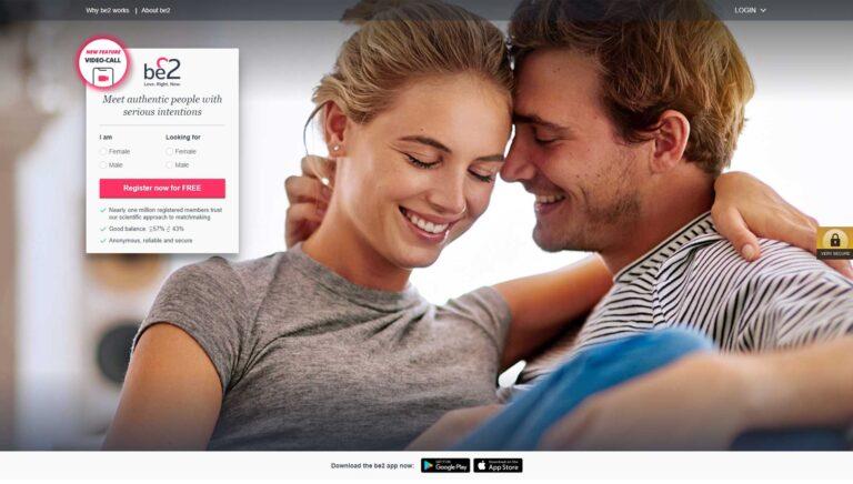 Be2 .co.uk screenshot