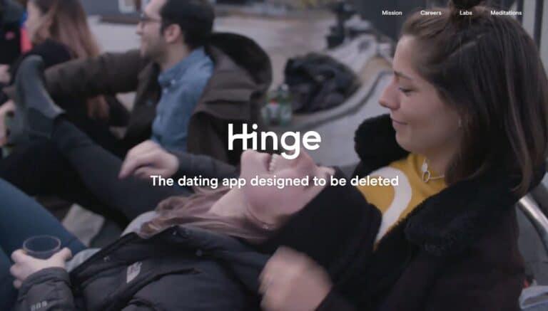 Hinge screenshot